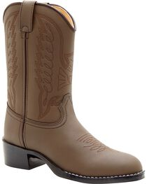 Durango Kid's Distressed Leather Western Boots, , hi-res