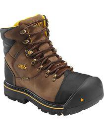 Keen Men's Milwaukee Mid Waterproof Boots - Steel Toe, , hi-res