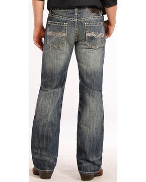 Rock & Roll Cowboy Men's Pistol Boot Cut Jeans, Denim, hi-res
