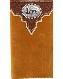 Cody James® Men's Leather Rodeo Wallet, , hi-res