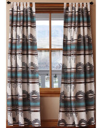 Carstens Badlands Tab Top Drapes, Turquoise, hi-res