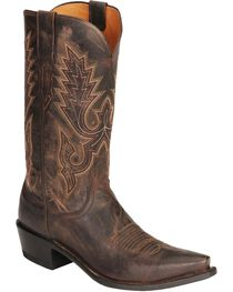 Lucchese Men's Embroidered Western Boots, , hi-res