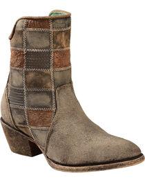 Corral Women's Patchwork Western Booties, , hi-res