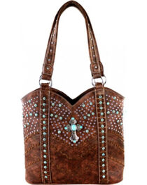 Montana West Coffee Spiritual Collection Tote, , hi-res