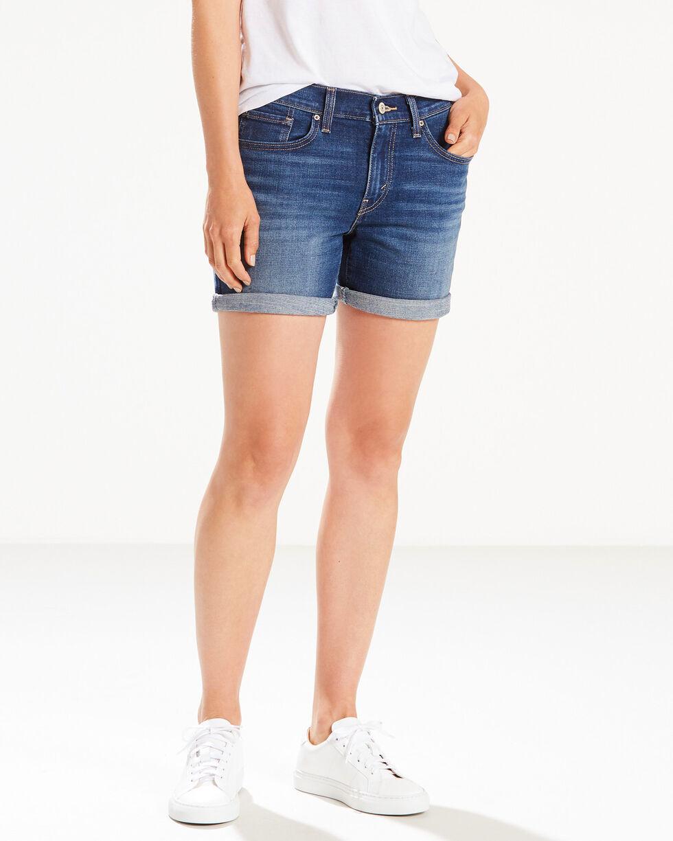 Levi's Women's Sweet Water Classic Shorts, Indigo, hi-res