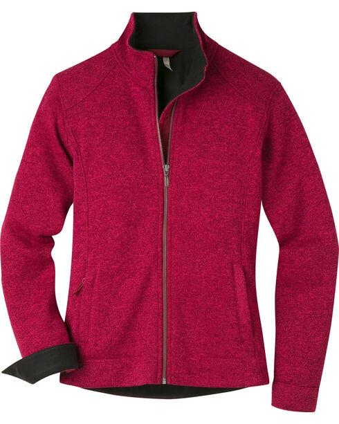 Mountain Khakis Women's Old Faithful Sweater, Burgundy, hi-res