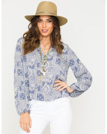 Sage the Label Women's Knots Blouse , , hi-res