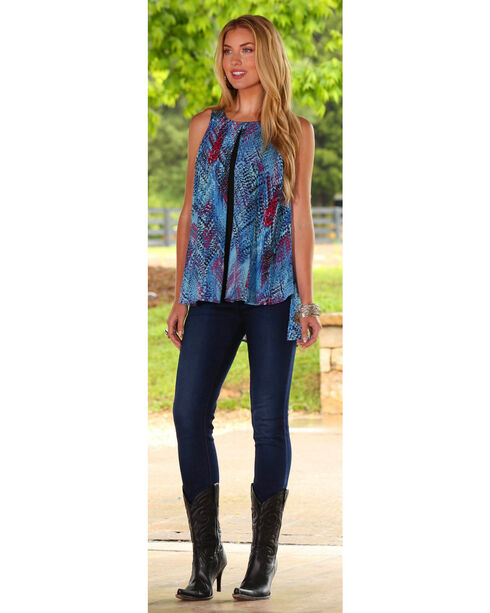 Wrangler Rock 47 Women's Multi Western Top, Multi, hi-res