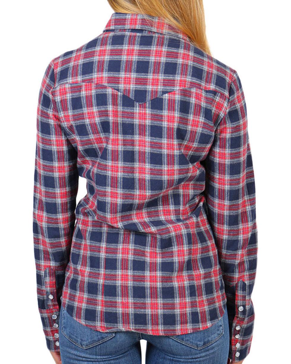 Stetson Women's Plaid Long Sleeve Shirt, , hi-res