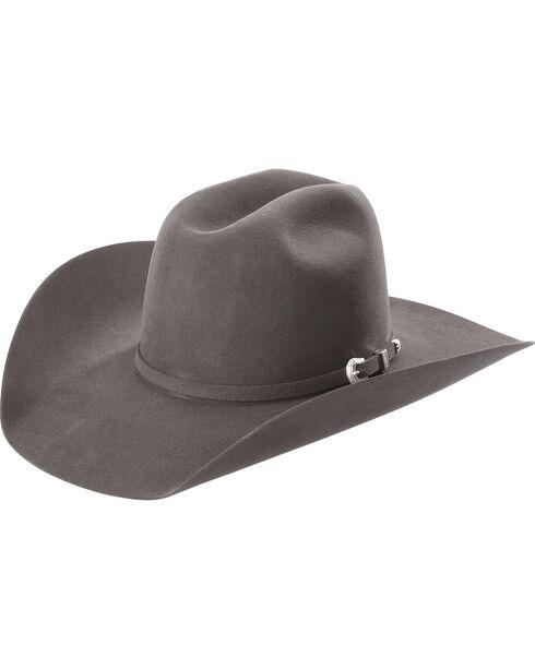 American Hat Co Men's Grey 7X Felt Hat, Grey, hi-res