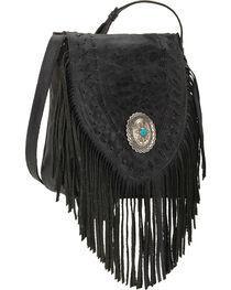 American West Leather Seminole Crossbody, , hi-res