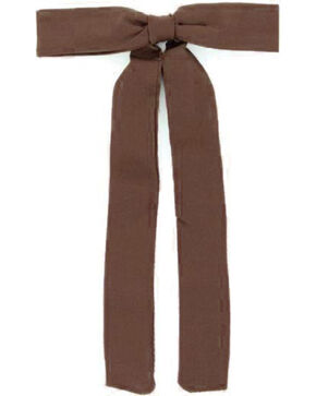 M&F  Western Colonel Neck Tie, Brown, hi-res
