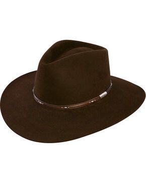 Stetson Pawnee 4X Fur Felt Hat, Chocolate, hi-res