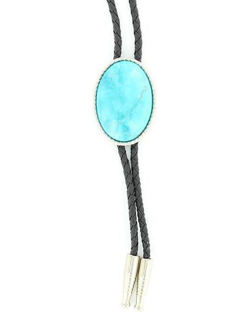 Artificial Turquoise Stone Bolo, Turquoise, hi-res