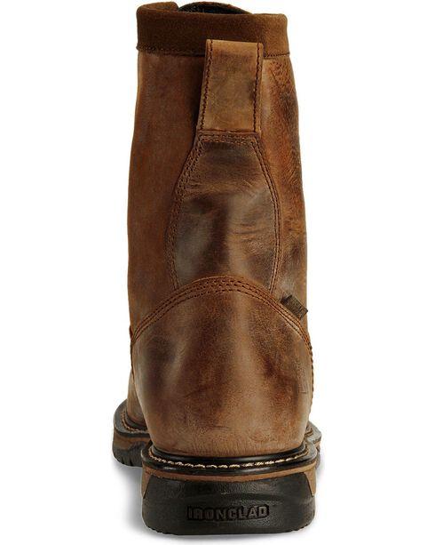Rocky Men's Iron Clad Work Boots, Copper, hi-res