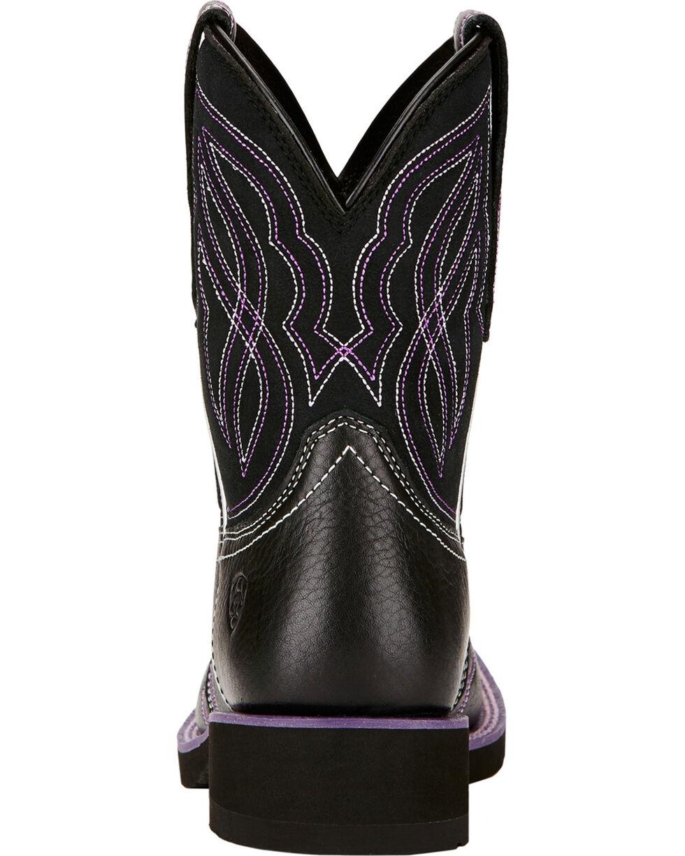 Ariat Women's Ranchbaby II Western Boots, Black, hi-res