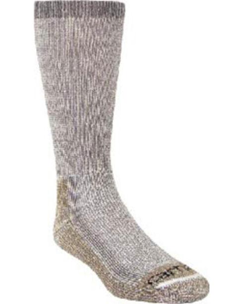 Carhartt Grey Full Cushion Steel-Toe Synthetic Work Boot Socks - 2 Pack, Grey, hi-res