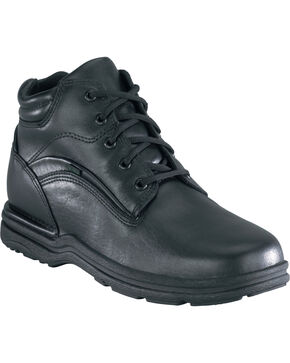 Rockport Men's Waterproof Sport Work Boots - USPS Approved, Black, hi-res
