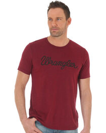 Wrangler Men's Word Mark Western T-Shirt, , hi-res