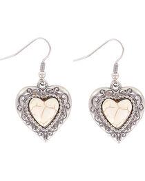 Shyanne® Women's Heart Bone Earrings, , hi-res