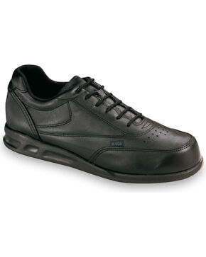 Thorogood Men's American Heritage Postal Certified Athletic Oxfords, Black, hi-res