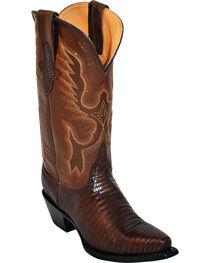 Ferrini Women's Teju Lizard Exotic Western Boots, , hi-res