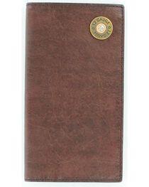 Nocona Men's 12 Gauge Checkbook Wallet, , hi-res