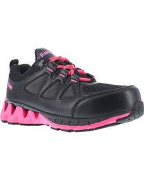 Reebok Women's ZigKick Athletic Oxford Work Shoes - Composite Toe , , hi-res