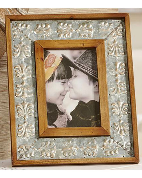 Giftcraft Antique White Vertical Photo Frame , Tan, hi-res