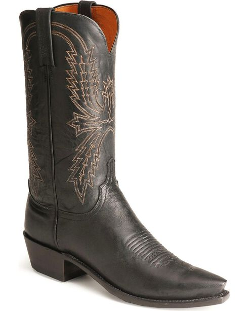 Lucchese Men's 1883 Western Boots, Black, hi-res