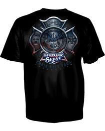 Chris Kyle Fireman's Cross Black T-Shirt, , hi-res