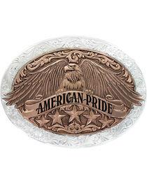 Montana Silversmiiths American Pride Buckle, , hi-res