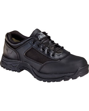 Thorogood Men's Station Oxfords, Black, hi-res