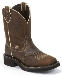 Justin Women's Embossed Gypsy Western Boots, , hi-res