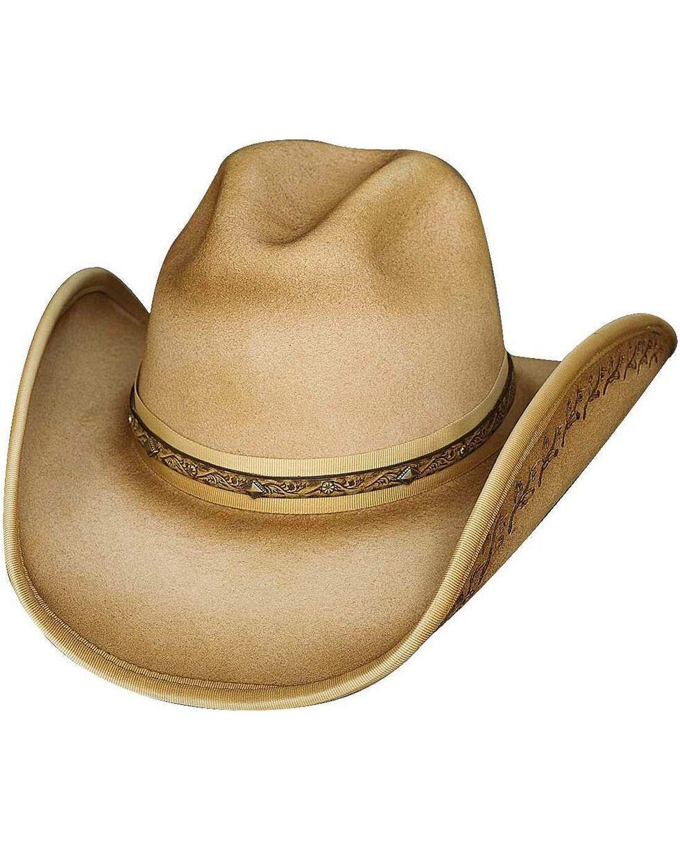 Bullhide Men's Back In Time Wool Hat, Buckskin, hi-res