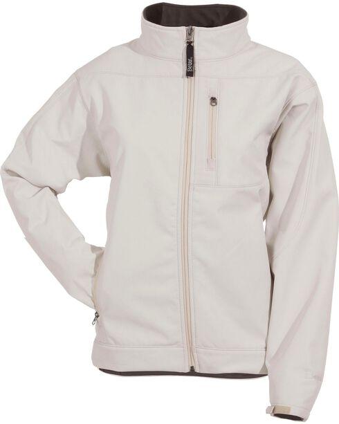 Berne Women's Eiger Softshell Jacket, Ivory, hi-res