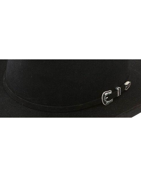 Stetson Skyline 6X Fur Felt Hat, Black, hi-res