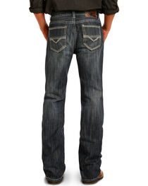 Rock & Roll Cowboy Men's Indigo Double Barrel Jeans - Straight Leg , , hi-res