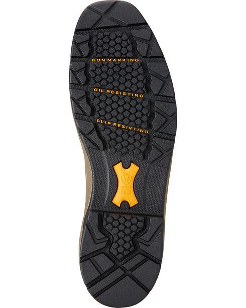 Ariat Men's Master Grip Composite Toe WP Work Boots, Brown, hi-res