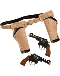 Little Outlaw Double Gun Holster Set, , hi-res