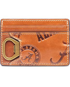 Jack Mason Men's Alabama Sideline ID Card Case , Brown, hi-res