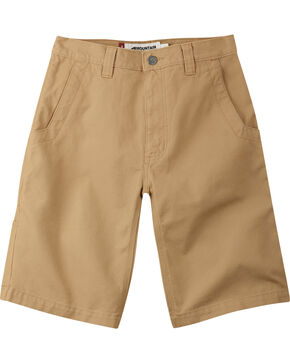 "Mountain Khakis Men's Alpine Relaxed Fit Utility Shorts - 9"" Inseam, Tan, hi-res"