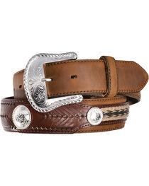 Tony Lama Men's Duke Leather Belt, , hi-res