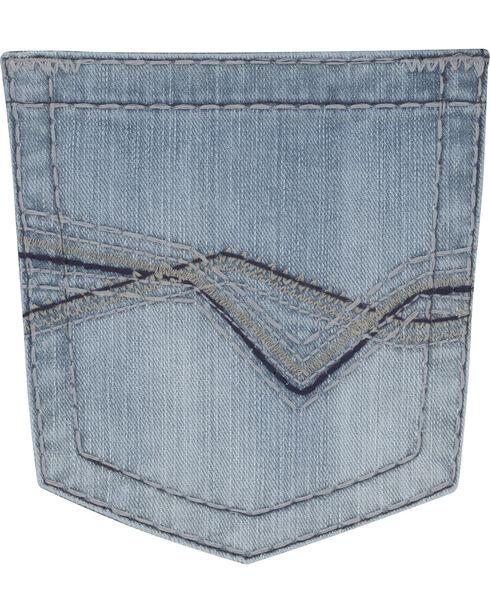 Wrangler Rock 47 Men's Turntable Slim Fit Jeans - Boot Cut, Light Blue, hi-res
