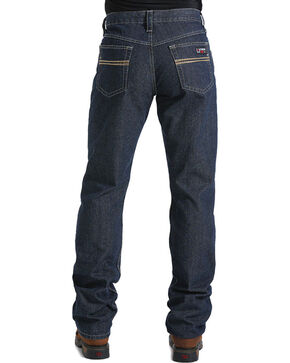 Cinch Men's Flame Resistant Jeans, Blue, hi-res