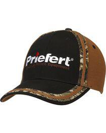 Priefert Logo Embroidered Camo Cap, , hi-res