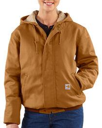 Carhartt Women's Active Flame-Resistant Work Jacket, , hi-res
