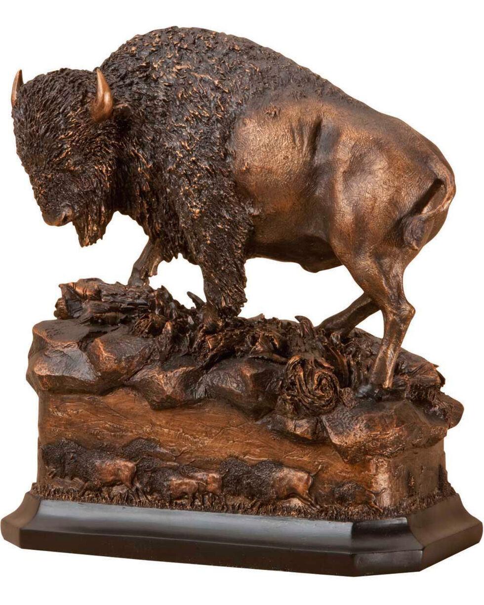 "Demdaco Bronze ""American Icon"" Buffalo Sculpture , Bronze, hi-res"