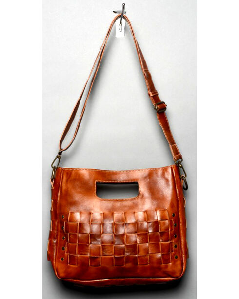 Bed Stu Women's Orchid Cognac Shoulder Bag, Cognac, hi-res