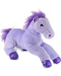 Aurora Flopsies Perfect in Purple Horse Plush Toy, , hi-res